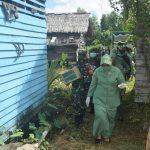 Warga Apresiasi Baksos Peduli Kasih Persit Kartika Candra Kirana di Ketapang