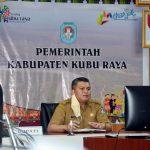Gugus Tugas Kecamatan di Kubu Raya Siapkan Stok Beras