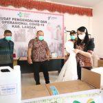 Pemkab Landak Terima Bantuan APD dan Gedung PAUD