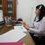 Bupati Landak Jadi Narsum WVI Dalam Diskusi Online Daerah 3T