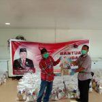 Mantan Gubernur Kalbar Salurkan Bantuan Untuk Masyarakat Bengkayang