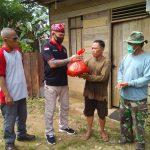 DAD, Polres dan TNI Bengkayang Salurkan Bantuan Sosial