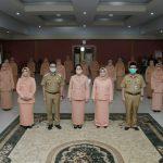 Wali Kota Pontianak Kukuhkan Dharma Wanita Persatuan 2019-2024
