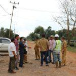 Komisi IV DPRD Ketapang Tinjau 2 Proyek APBD Senila Rp 18 M