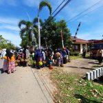 Polsek Delta Pawan Kawal Operasi Pasar Gas Subsidi untuk Masyarakat