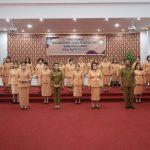 Pengukuhan DWP Landak, Bupati Ingatkan Status Istri ASN