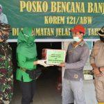 TNI Siagakan Posko Tanggap Bencana di Jelai Hulu Ketapang