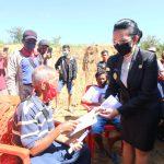 Pemkab Landak Salurkan BLT DD Di Desa Amboyo Utara