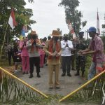 Peresmian Kampung Tangguh Jagoi Babang