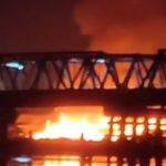 Kebakaran di Gang Madu Pontianak Timur Hanguskan 7 Rumah Warga