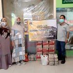 IKA-PTK Pontianak Salurkan Bantuan Bagi Korban Puting Beliung