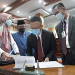 Teken Nota Kesepahaman KUPA-PPAS Perubahan APBD 2020