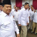 Prabowo Subianto Kembali Dikukuhkan Jadi Ketum Gerindra di KLB Hambalang