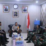 Silaturahmi, TNI-Polri di Ketapang Pererat Kerja sama