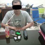 Simpan Narkoba, MR (42) Warga Desa Pesaguan Kiri MHS ditangkap Polisi