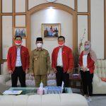 Pengurus DPW PSI Beraudiensi dengan Wagub Kalbar