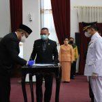 Lantik Penjabat Bupati Sekadau, Sutarmidji Minta Tata Kelola Pemerintahan Secara Transparan dan Akuntabel