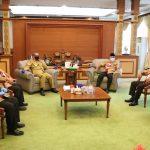Kwarda Pramuka Kalbar Sambangi Gubernur Sutarmidji