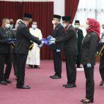 Perubahan Nomenklatur, Gubernur Kalbar Lantik Pejabat Pimpinan Tinggi Pertama