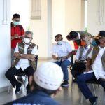 Satgas Cek Kesiapan Ruang Isolasi Pasien Covid-19 di Lima Tower Rusun Nagrak Cilincing