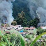 Puskesmas Dibakar KKB di Papua, TNI Cari Dua Nakes Menghilang