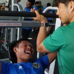 TC Dubai, Pemain Timnas Tempa Fisik dengan Beban Mencapai 95 Kilogram