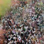 India Rayakan Festival Holi, Abaikan Lonjakan Kasus Covid-1