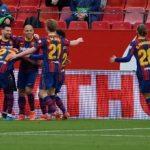 Assist dan Gol Lionel Messi di Kandang Sevilla, Barcelona Menang 2-0