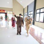 Pemkab Landak Hibah Bangunan Gedung Aula SPN Polda Kalbar