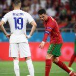 Momen Menarik Benzema Turuti Instruksi Ronaldo Saat Portugal Vs Prancis