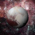 Penampakan Pluto Ketika Diterangi Matahari