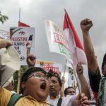 Bela Palestina, Ribuan Orang Bakal Demo di Kedubes Amerika Jumat Besok