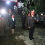 Malam Renungan Suci di Taman Makam Pahlawan Ngabang Berlangsung Khitmad