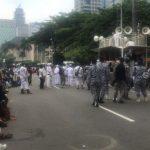 Akses ke Istana Ditutup Total, Massa PA 212 Dkk Tertahan di Patung Kuda