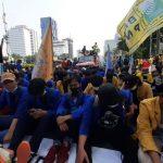 Demo Jokowi, BEM SI Tantang Moeldoko Keluar Istana: Jika Tak Datang, Kita Bermalam di Sini