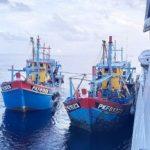 Lagi! Dua Kapal Malaysia Terciduk Curi Ikan di Perairan Indonesia