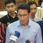 Sandiaga Uno Bela Sungkawa Atas Wafatnya Syekh Ali Jaber