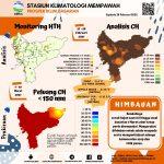 Prospek Iklim Dasarian, BMKG: Curah Hujan Mulai Meningkat