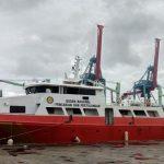Kapal Basarnas Berbenturan dengan Kapal Kemenhub