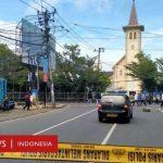 Bom Gereja Katedral Makassar: Pelaku Menerobos Masuk Sebelum Ledakkan Diri