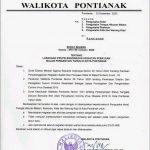 Wali Kota Pontianak Terbitkan Surat Edaran Larang Perayaan Tahun Baru