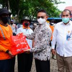 Berkah Ramadhan 1442 H, Wali Kota Pontianak: 734 Petugas Lapangan DLH Terima Paket Lebaran