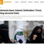 FPI Dibubarkan Pemerintah, Media Asing Ikut Menyoroti