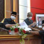 Legislatif Setujui Nota Penjelasan Eksekutif Atas Perubahan APBD TA 2021