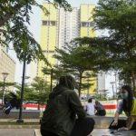 Awal Tahun, Ratusan Orang Positif Corona Masuk RSD Wisma Atlet