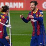 Messi Cetak Brace, Barca Menang 3-2