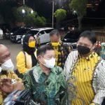Ketum PPP Sambangi Airlangga di DPP Golkar, Bahas Pemilu 2024?