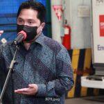 Bangun RS Modular Covid-19, Erick Thohir Targetkan 2 Minggu Ini Kelar