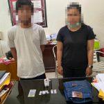 Kedapatan Bawa Paket Sabu, Pasutri Ini Ditangkap Anggota Polsek Benua Kayong