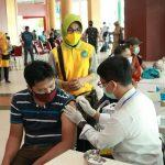 Gelar Vaksinasi Massal Dosis Pertama di PCC, TP PKK Kota Pontianak Targetkan 600 Orang